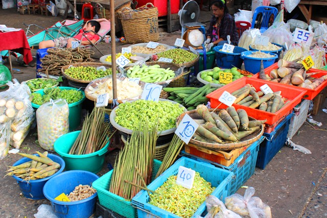 Bangkok step four auf dem markt der märkte