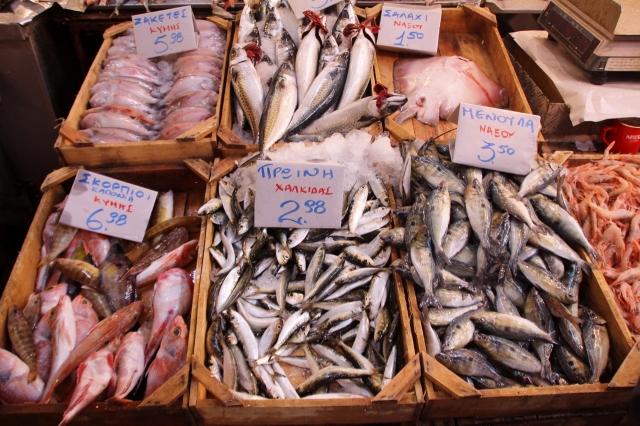 Markt Fische