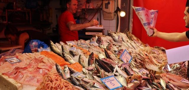 Heraklion Fischstand