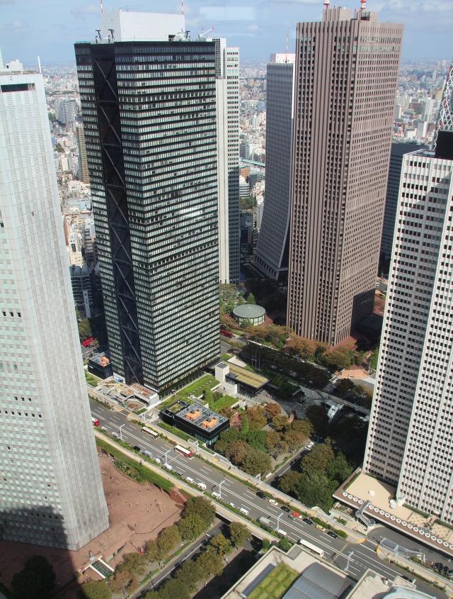 3 Tokio Hochhäuser