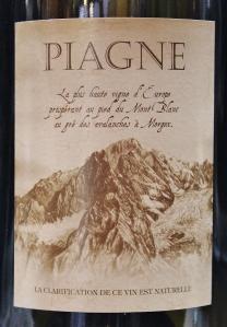 Italien - Cave de Morgex