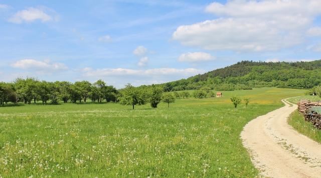 Fränkische Landschaft - Hetzles