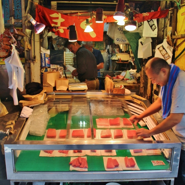 Thunfisch-Verkauf