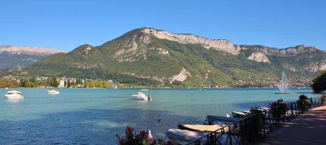 Am Lac d'Annecy