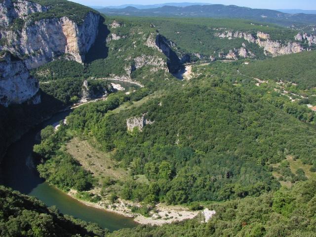 An der Ardèche