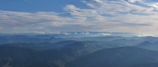 Blick vom Mont Ventoux