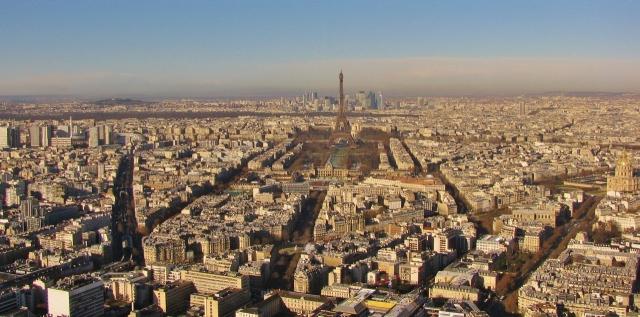 Paris - Blick vom Tour Montparnasse