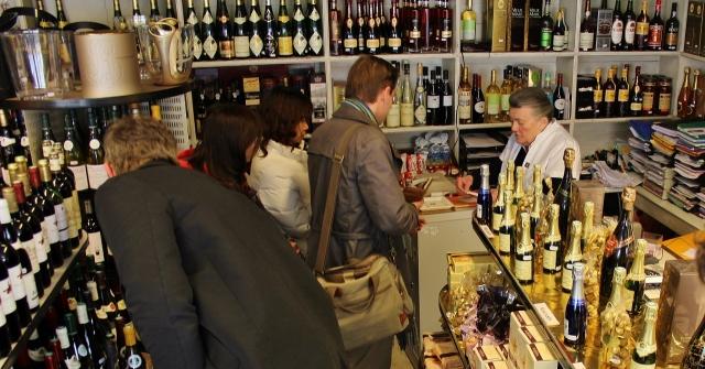 Weinladen Salvatori in Epernay