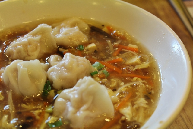 Hot & Sour Soup Dumpling