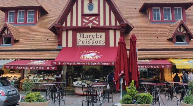 7 Trouville Fischmarkt