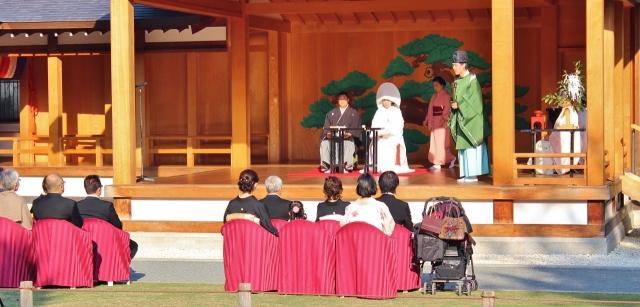 19 Shinto-Hochzeit