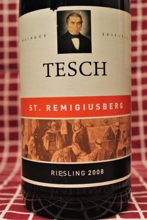 Tesch St. Remigiusberg Riesling 2008 Nahe