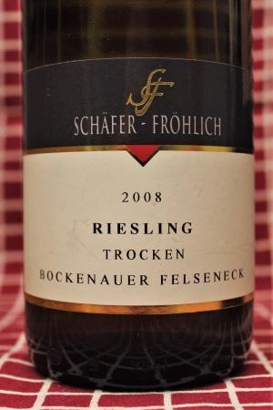 Schäfer-Fröhlich Riesling Bockenauer Felseneck 2008 Nahe