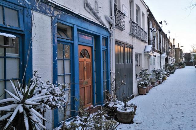 London Kensington Snow